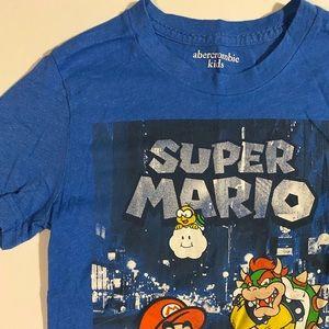 Abercrombie Kids Super Mario Graphic Tee Size 9/10